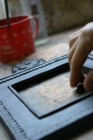 Making picture frame