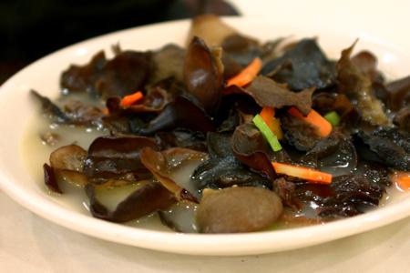 Chinese mushroom dish
