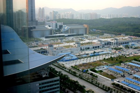 China city scape