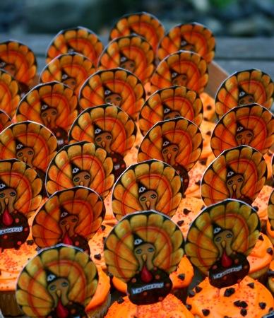 Turkey Day Cupcakes