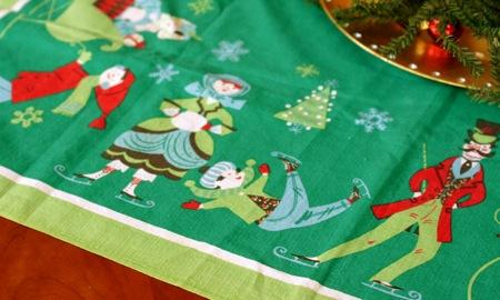 Vintage christmas linen