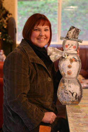 Teri Owens Snowman Art