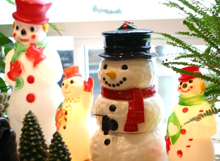 Snowman light collection