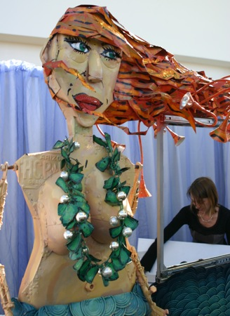 Giant Mermaid Art