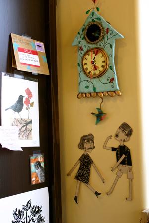 Allen designs clock