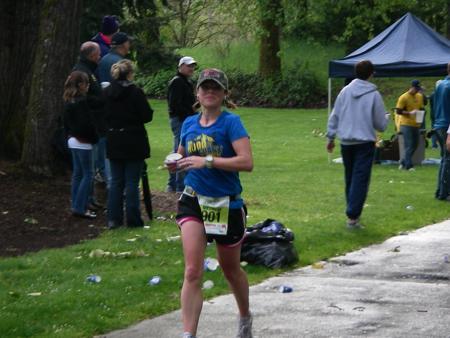 Michelle allen running