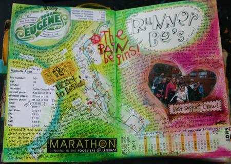 Marathon journaling