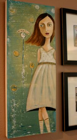 Kelly rae painting