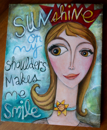 Sunshine Smile Painting