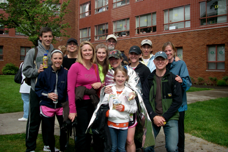 Marathon support crew