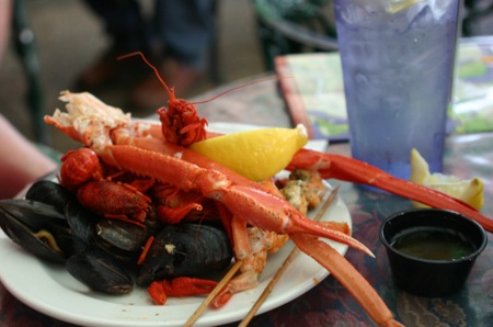 Seafood dinner D.C