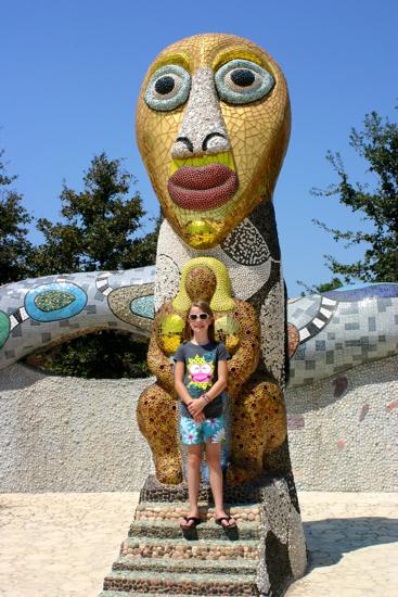 Large Mosiac Sculptures