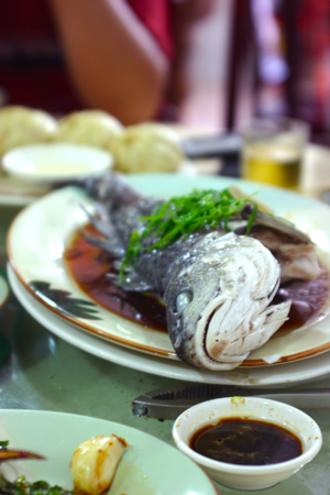 Chinese Fish Dish