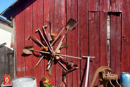Barn yard sale