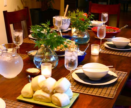 Asian Fusion Dinner Party