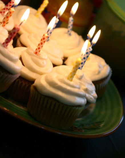 Birthday cuppycakes