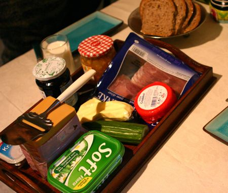 Norwegian brown cheese
