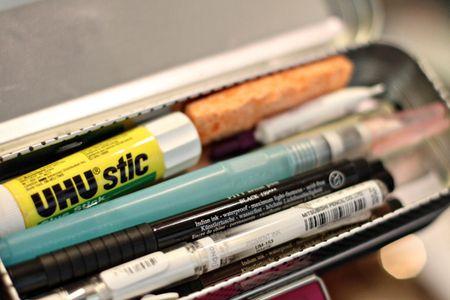 Art supplies travel