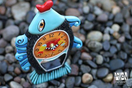 Allen designs clocks