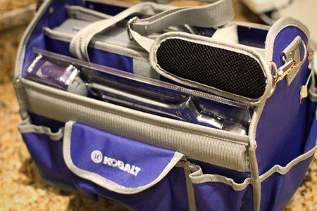Journaling travel bag