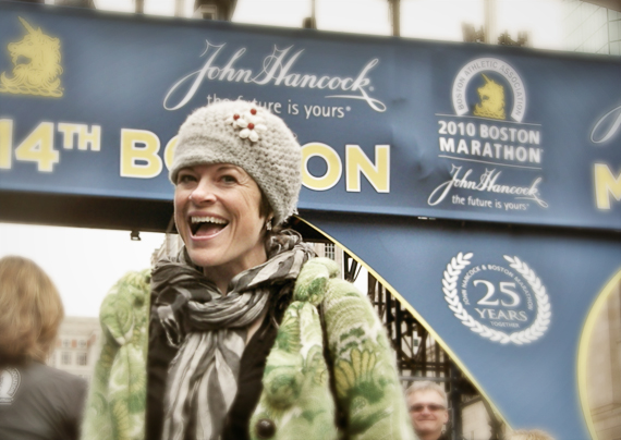 First boston marathon