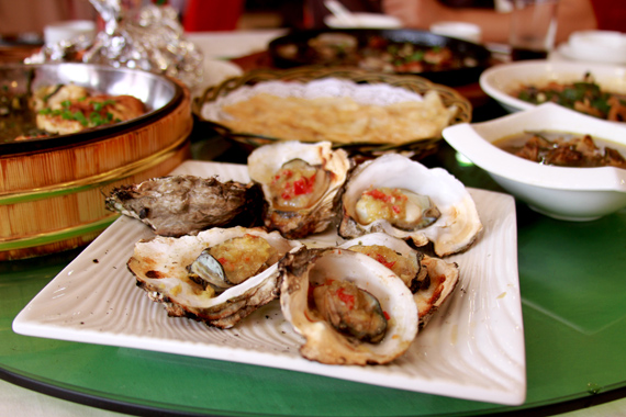 Shell fish in China
