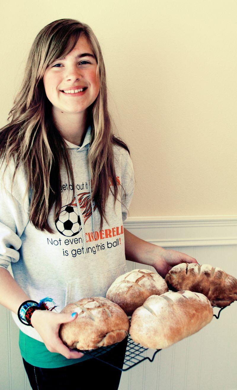 Baking teenager