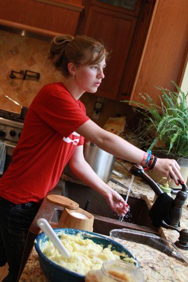 Teenage culinary arts
