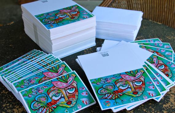 Allen designs cards