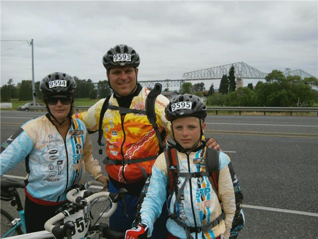STP Bike ride 2010