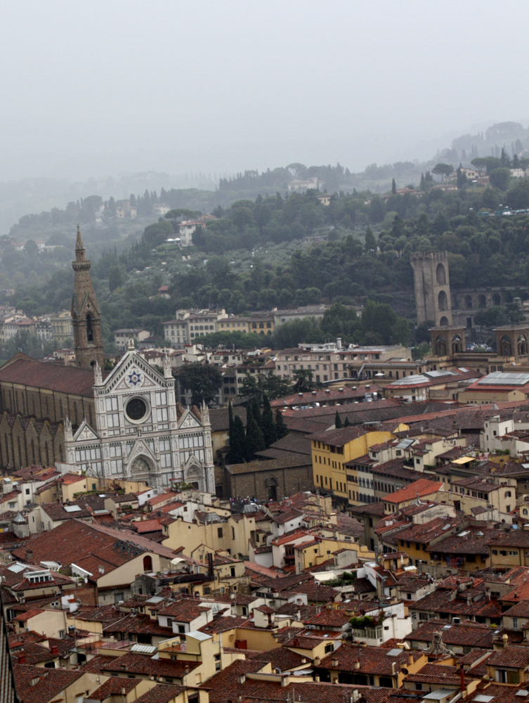 Beautiful italy view florence