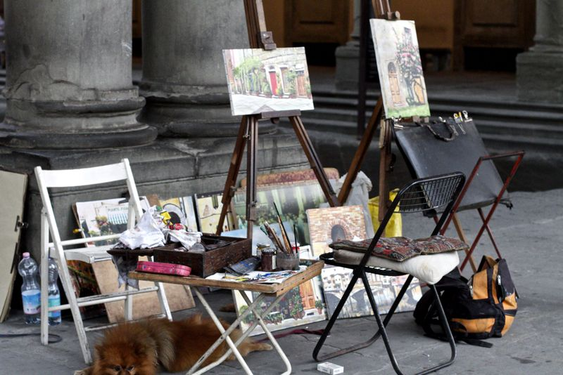 Florence artist italy
