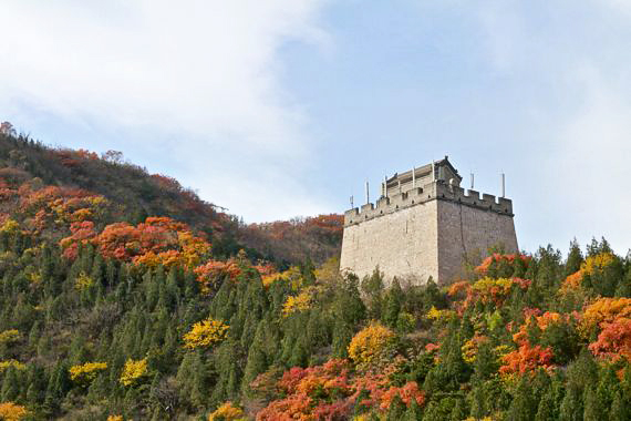 Fall colors china beijing