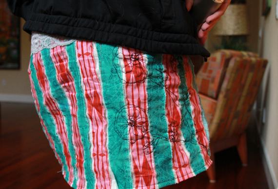 Hip handmade skirt