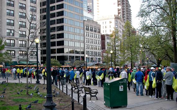 Boston commons marathon