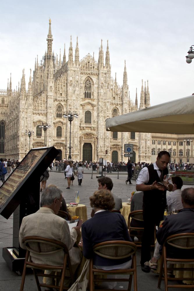 Milan duomo church