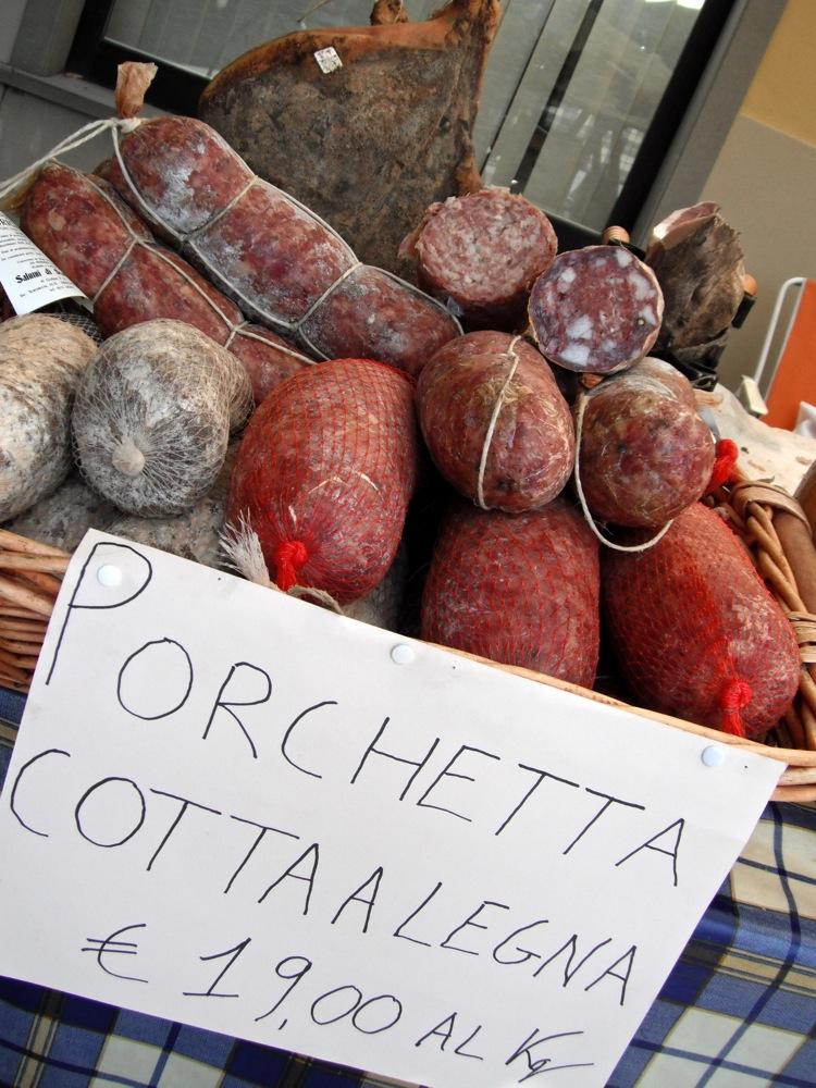Italy porchetta