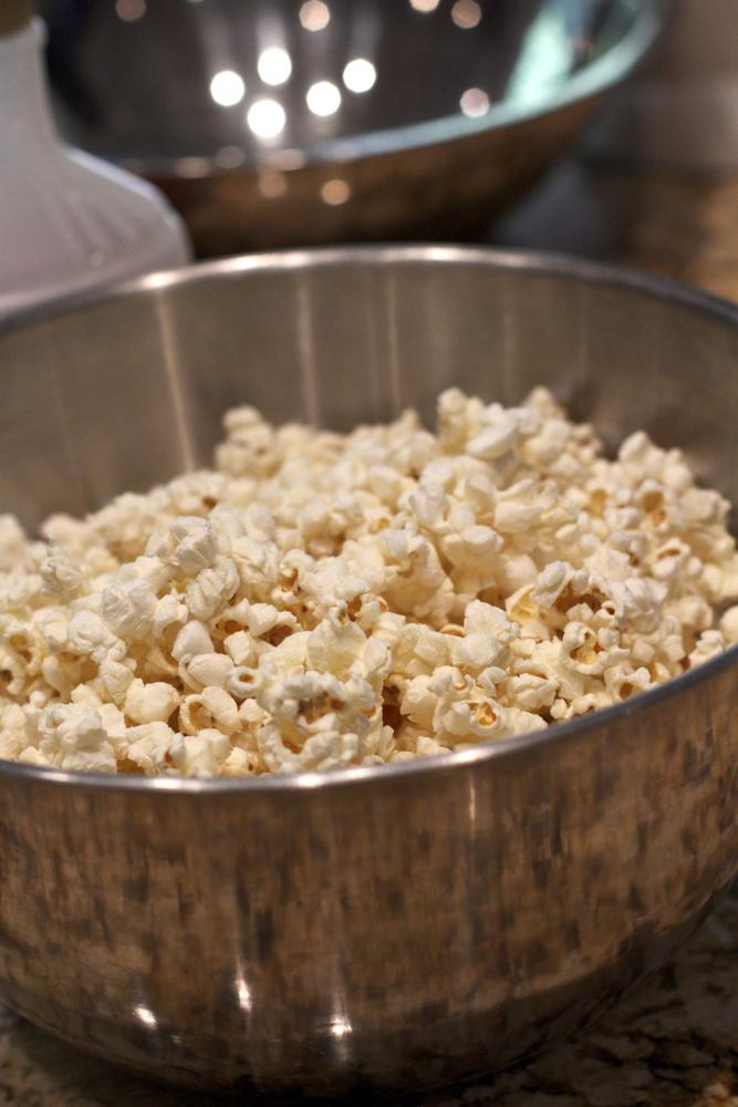 Yummy popcorn balls
