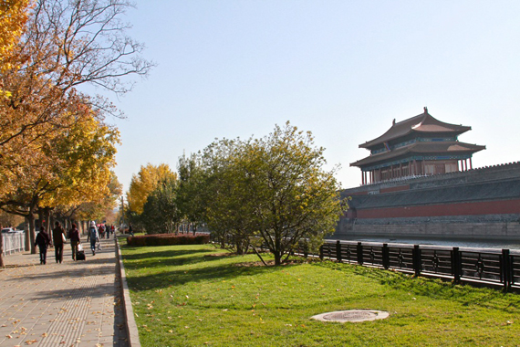 Traveling forbidden city