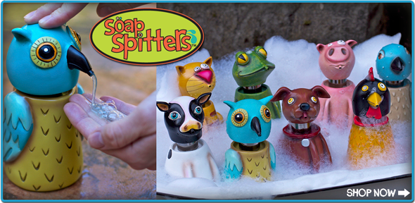 Soap-spitters