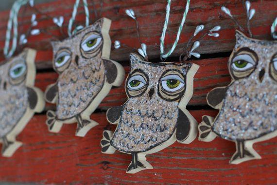 Super cool owl art