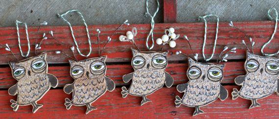 Owl lover gift handmade