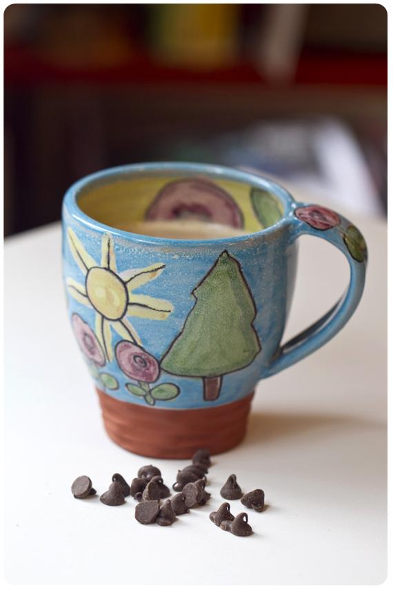 Cup of handmade comfort