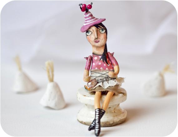 Sculpted girl photo shoot