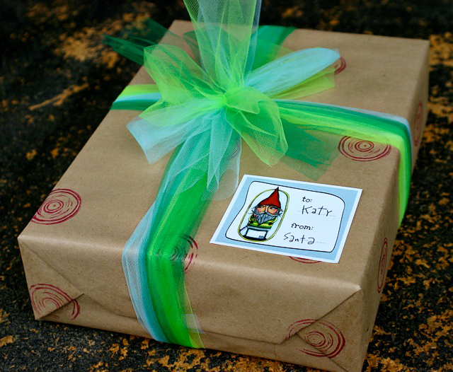 Free gift tags