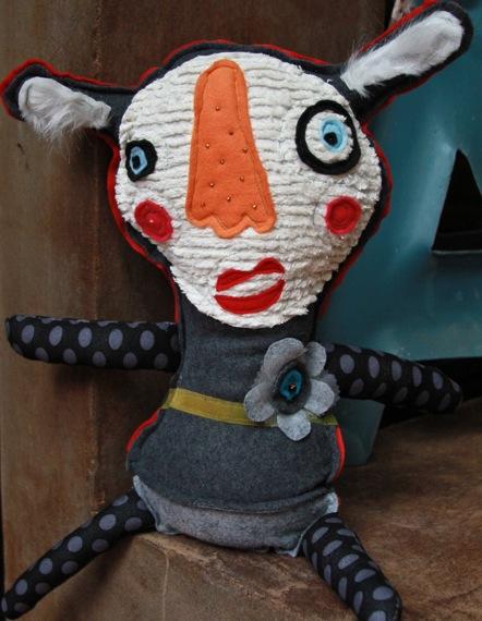 Handmade creature plush