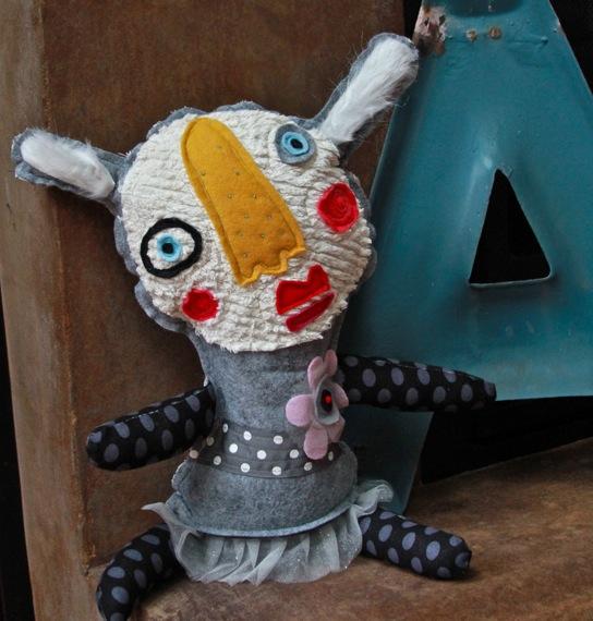 Little handmade monster