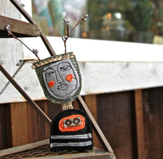 Arsty handmade ornament