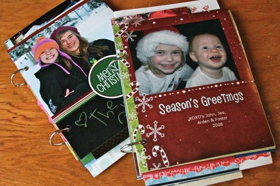 Saving christmas cards