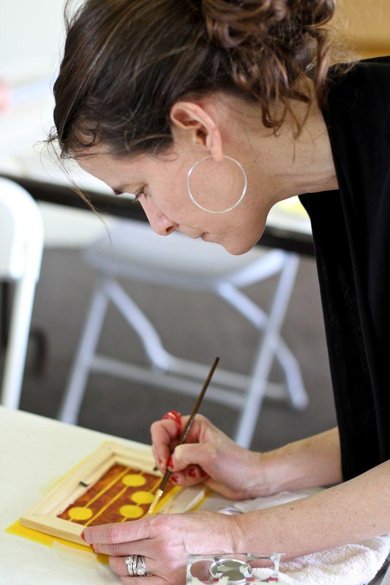 Silkscreening artfest